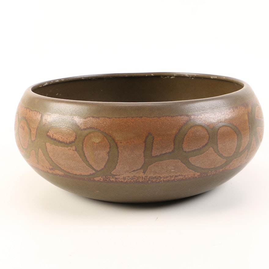 Mid-Century Bowl by Design West Pottery
