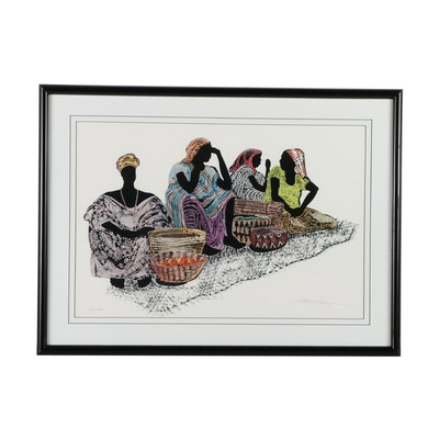 Kathleen A. Wilson Limited Edition Offset Lithograph