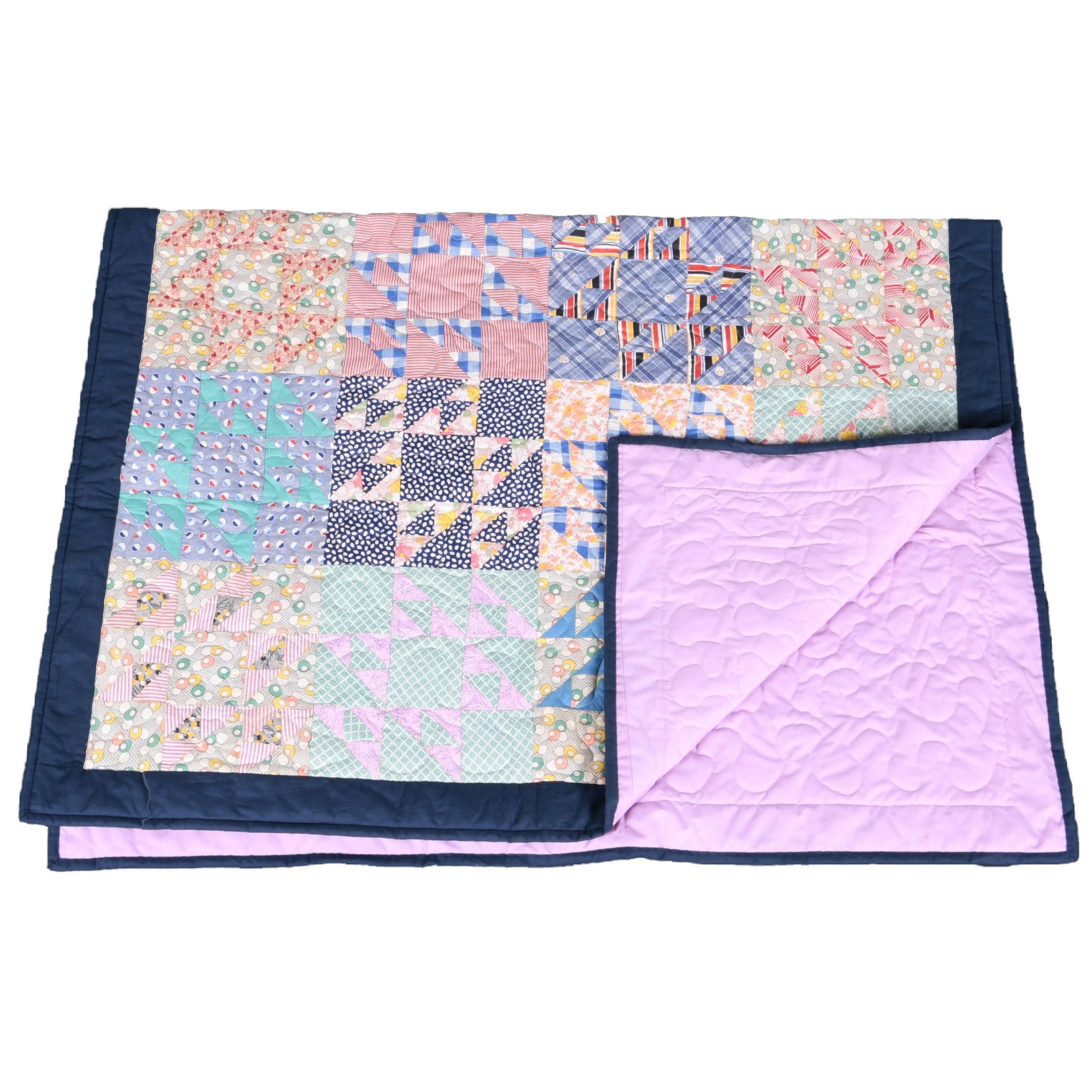 Multi-Pattern Hand Crafted Quilt