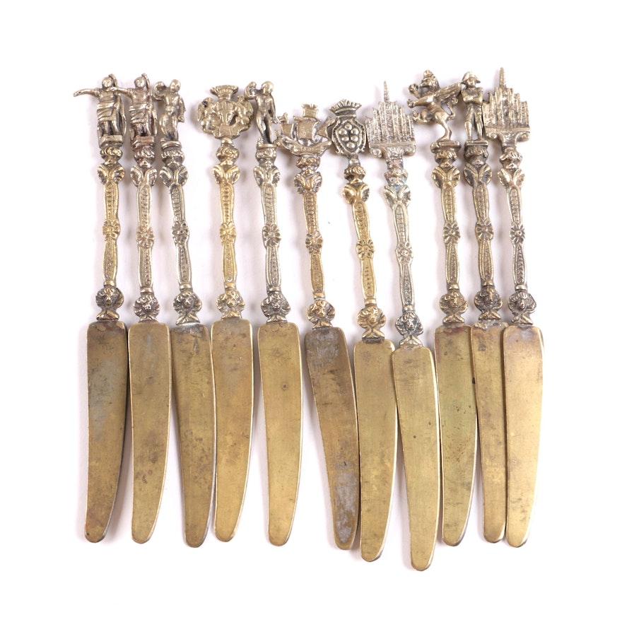 Decorative Brass Spreaders