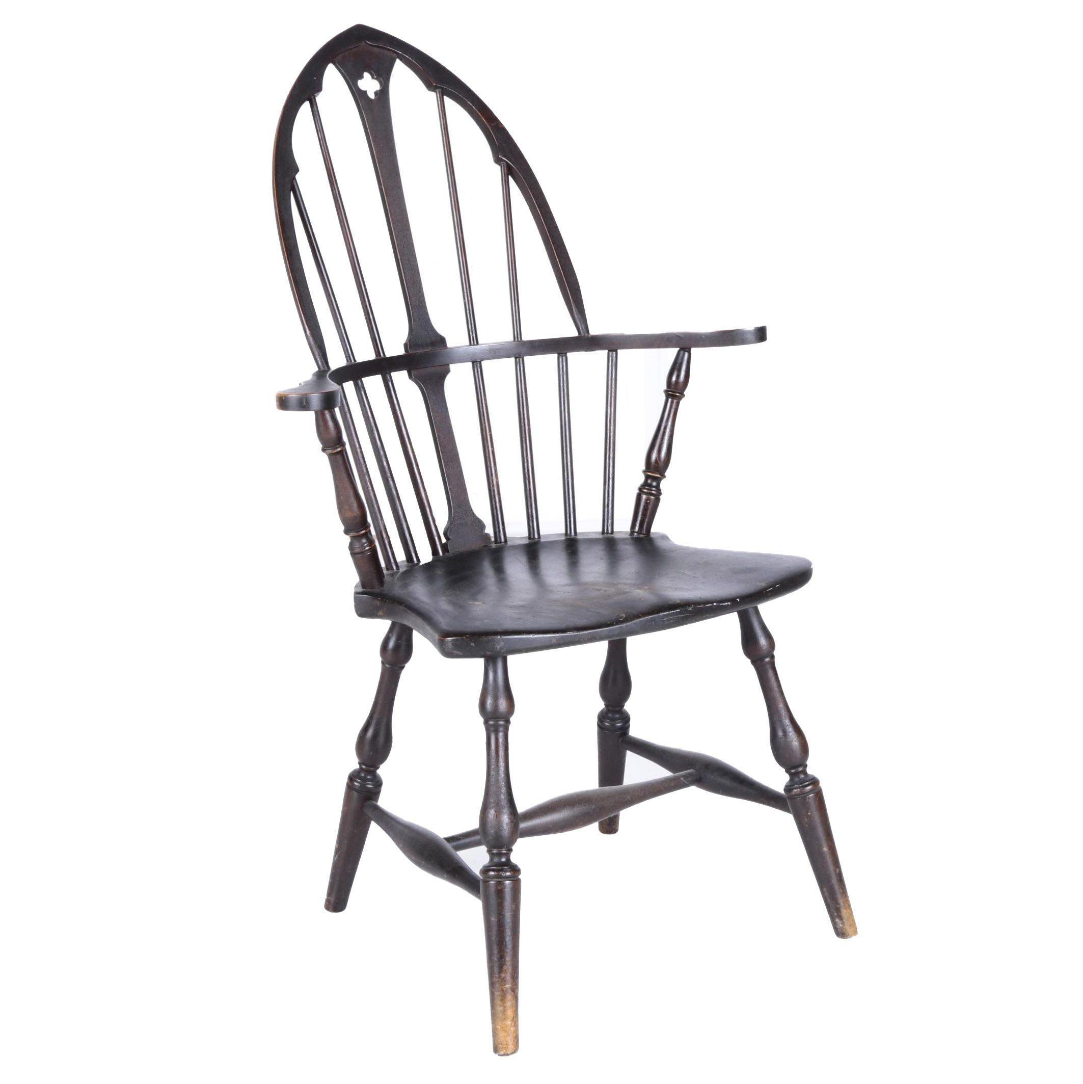 Cathedral-Back Windsor Armchair
