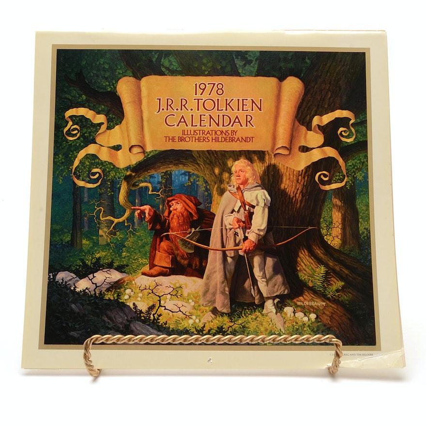 Image for 1978 J.R.R. Tolkien Calendar by Brothers Hildebrant