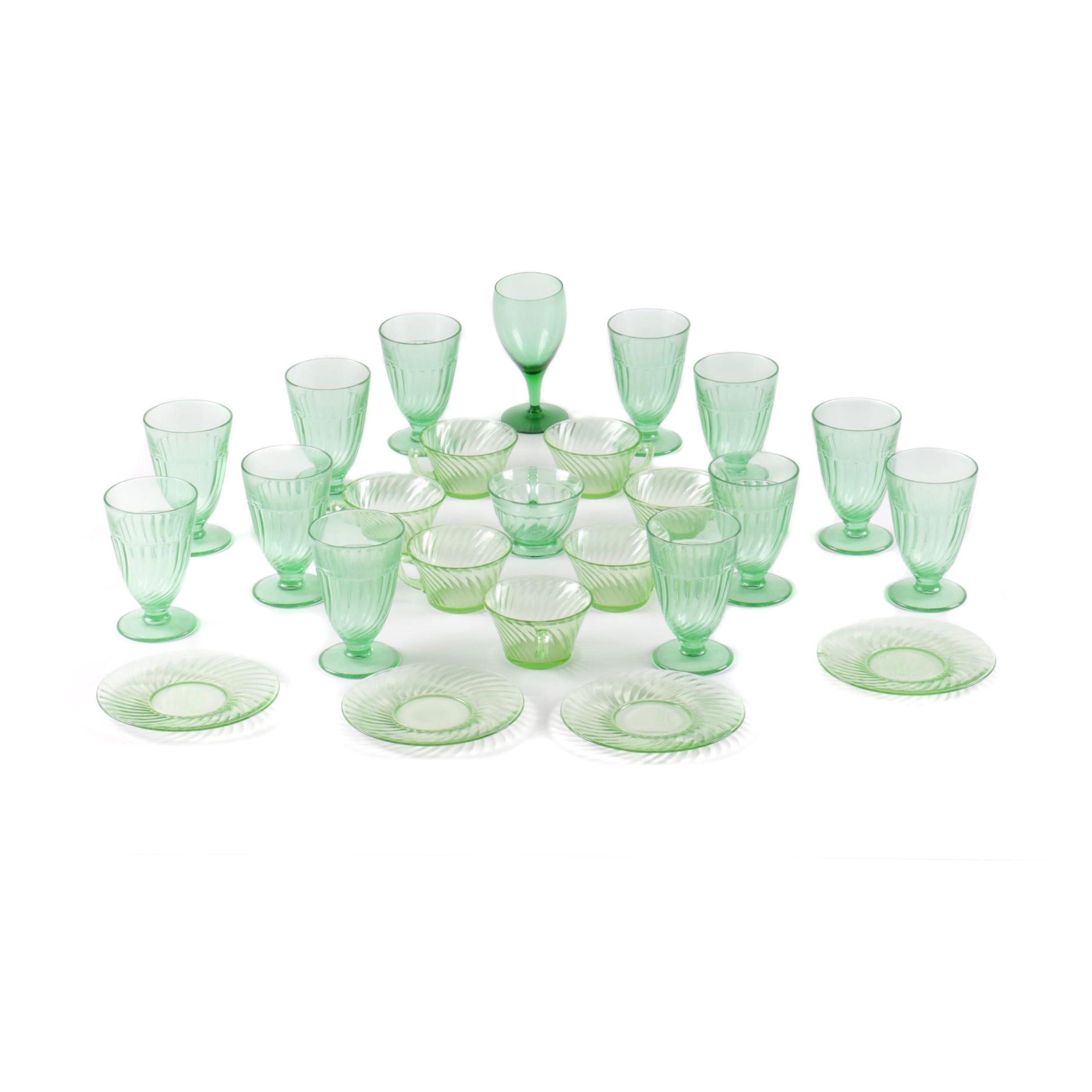 Depression and Vaseline Glassware