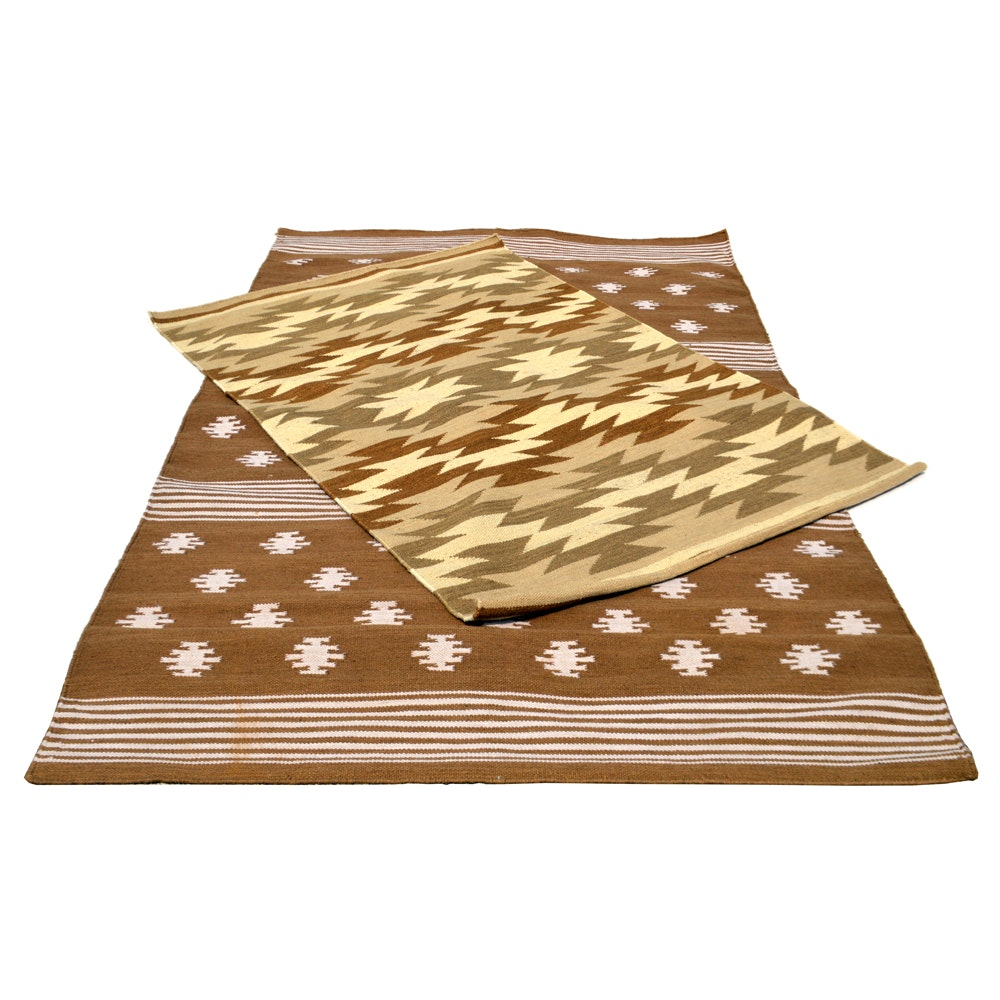Handwoven Native American Style Area Rugs