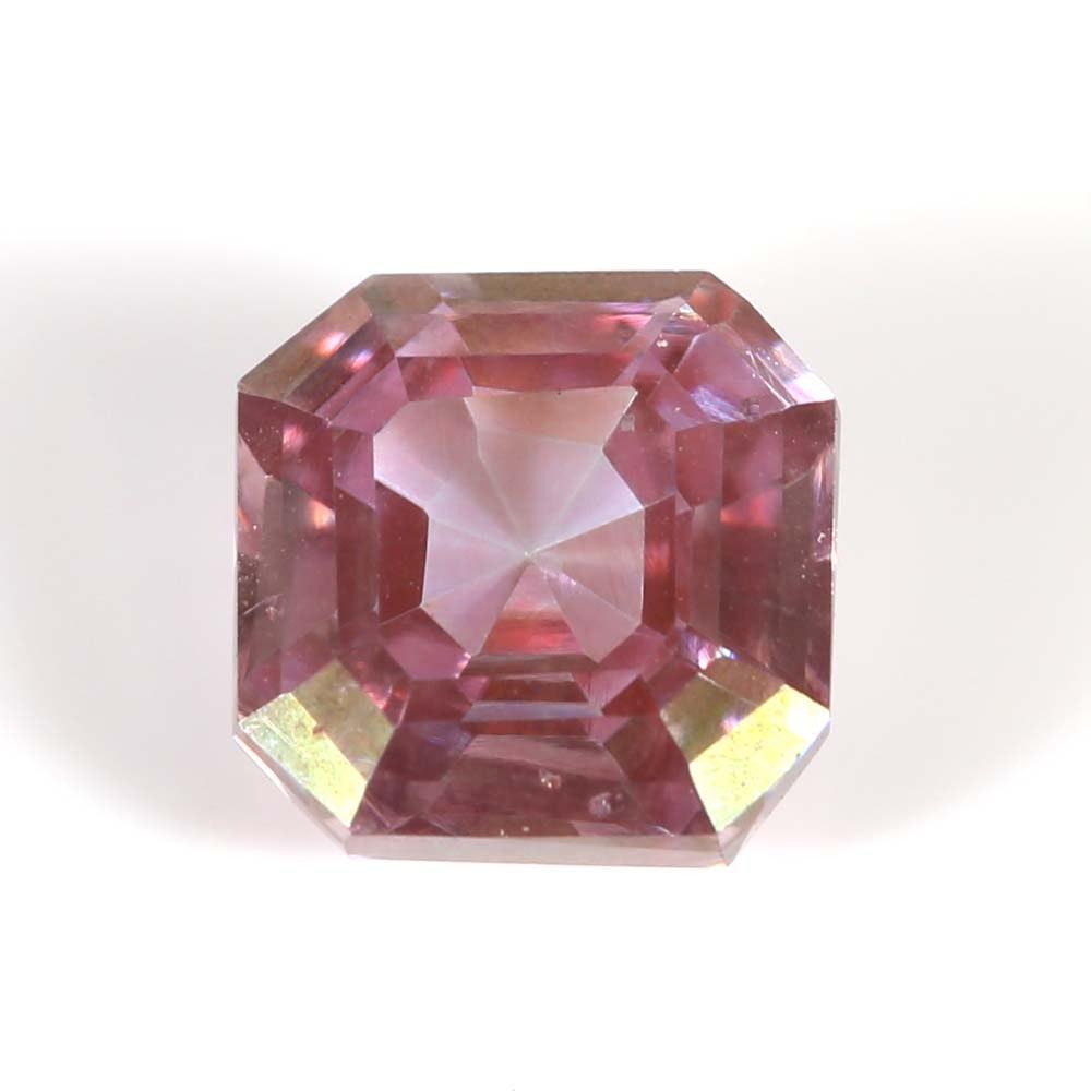 Pink Moissanite Loose Gemstone