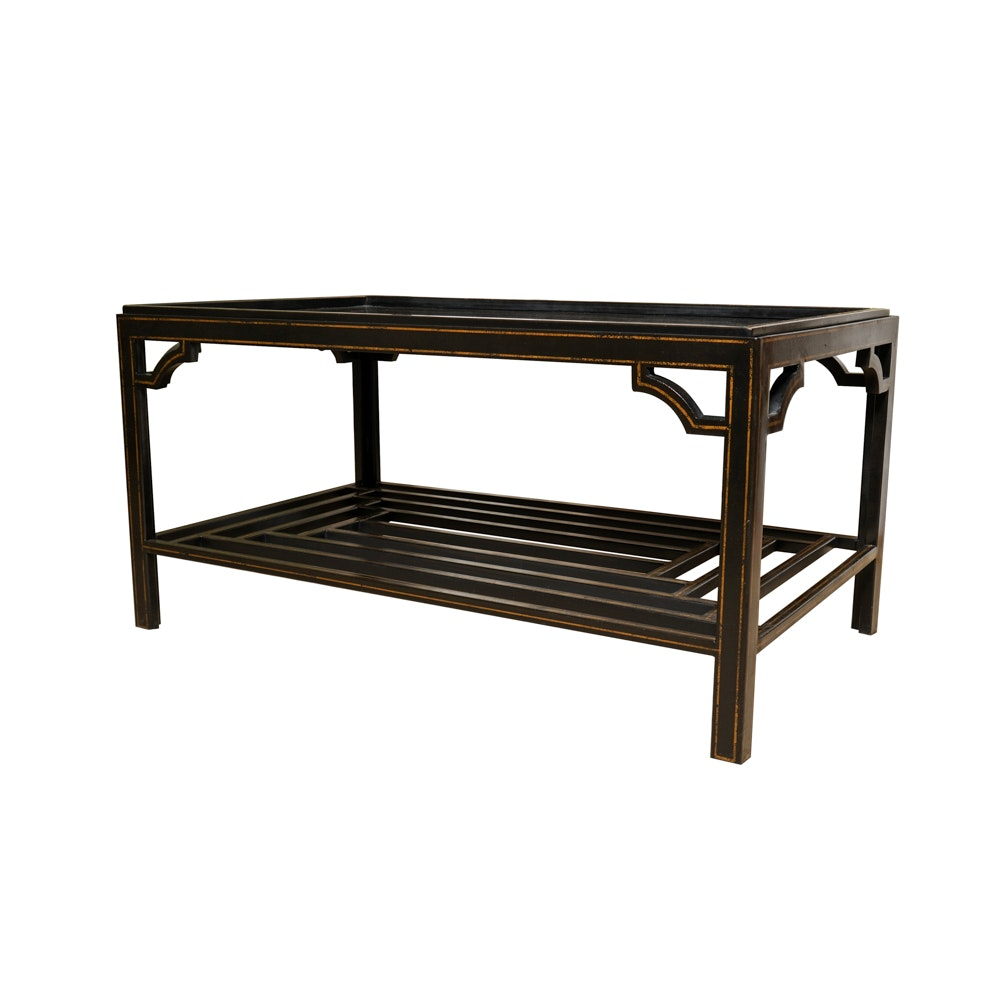 Chinese Chippendale Style Coffee Table