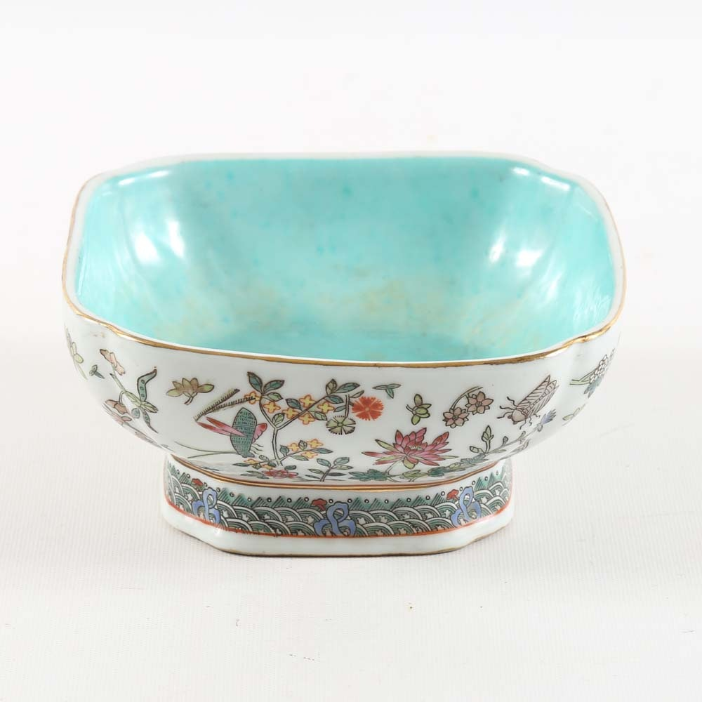 Chinese Pedestal Bowl