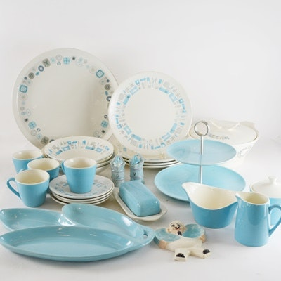 Blue Heaven Royal China and Del Mar Francisan China and Others