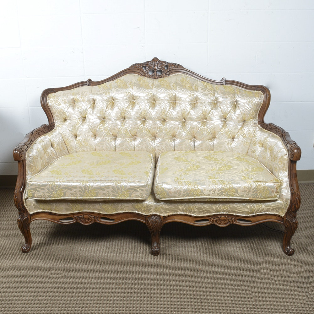 French Provincial Style Loveseat