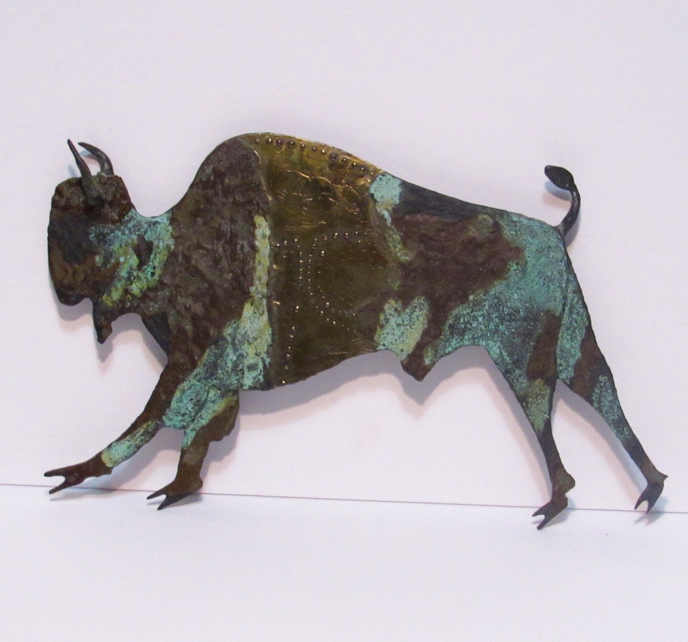 Bill Worrell Buffalo Metal Wall Art