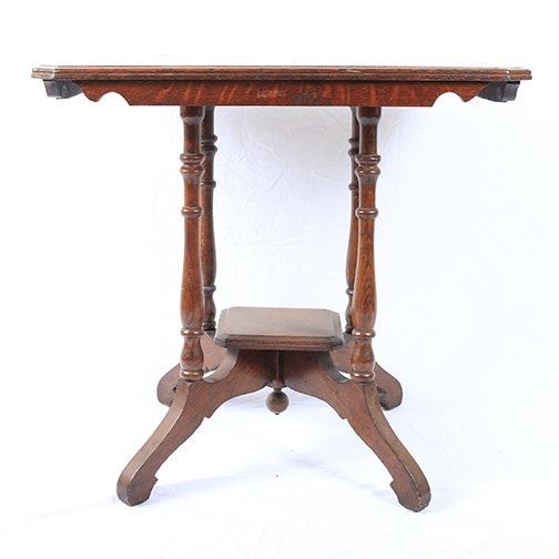 Victorian Style Mahogany Parlor Table
