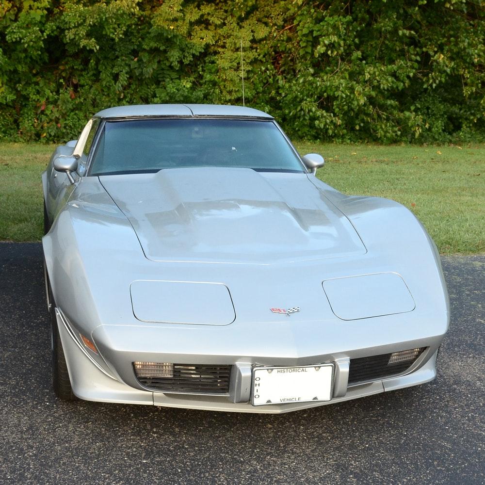 1979 Silver Chevrolet Corvette