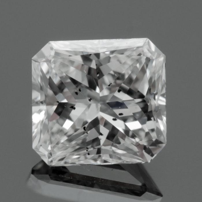Loose 0.71 CT Radiant Cut Diamond