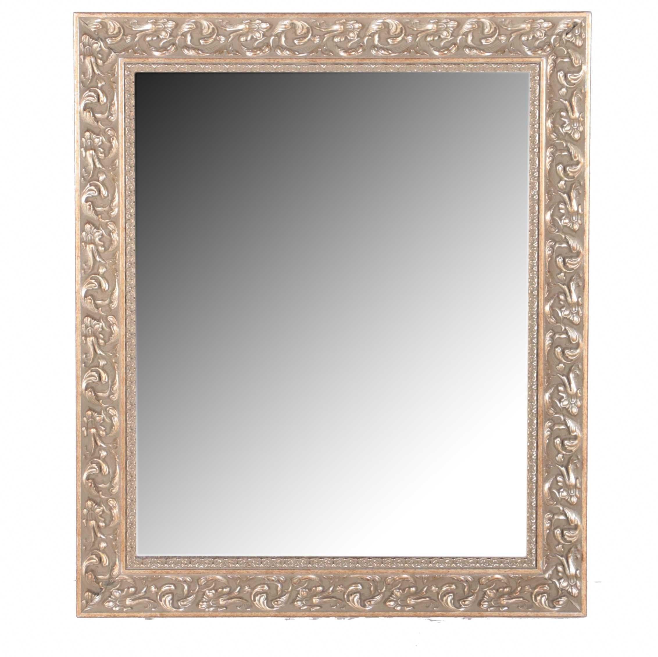 Rectangular Gilded Wall Mirror