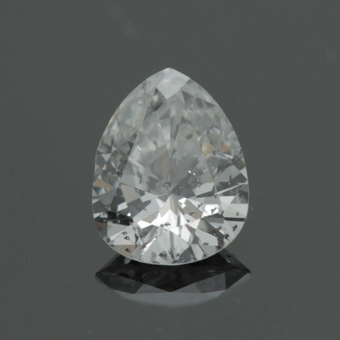 Loose 0.66 CT Pear Cut Diamond