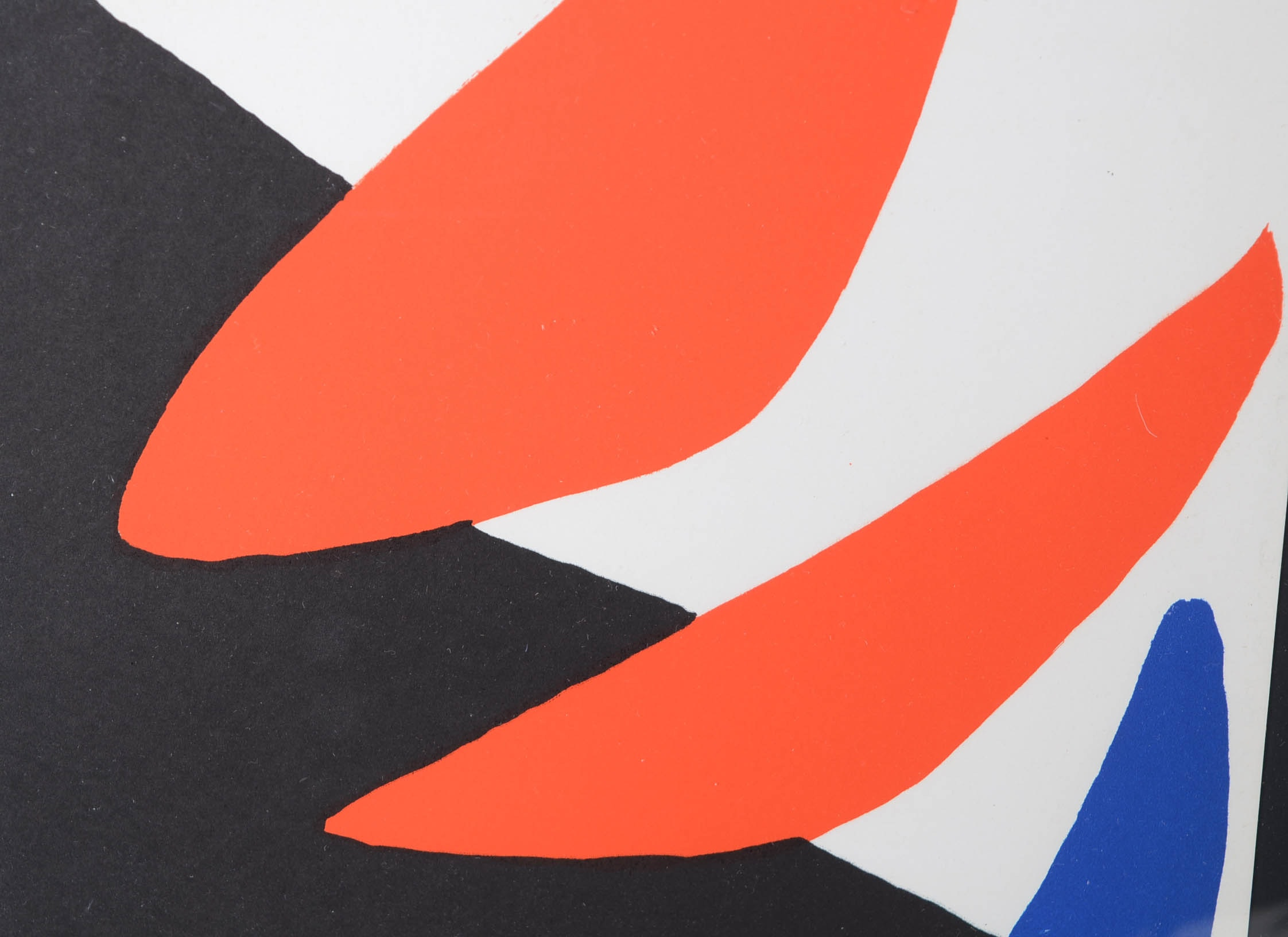 Alexander Calder Color Lithograph For Cover Of 1971