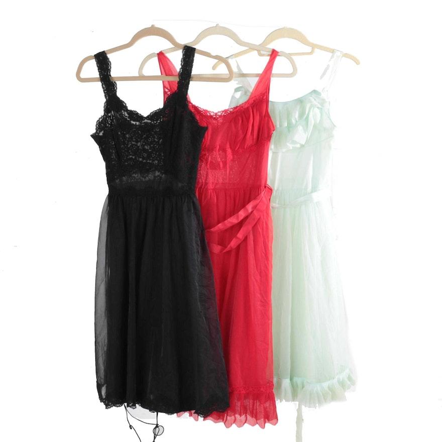 93e51cf475b Women s Vintage Nylon Nightgowns Including Shadowline   EBTH