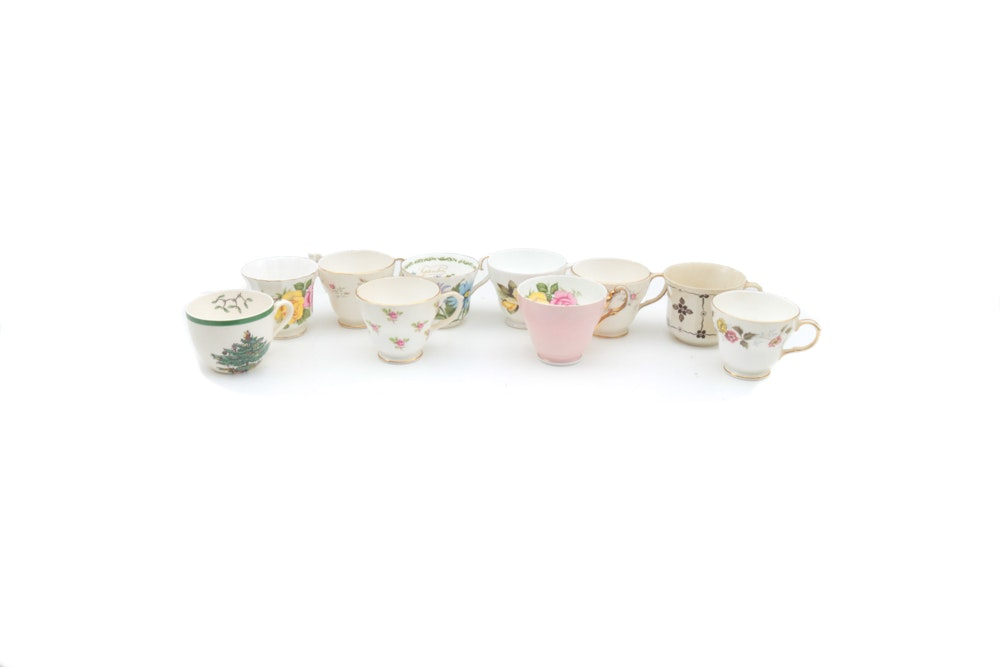 Collection of Bone China Teacups