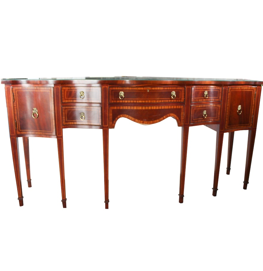 Mahogany Sideboard by Hickory Chair Furniture Co. Home Furnishings  D cor   More  17COL150    EBTH
