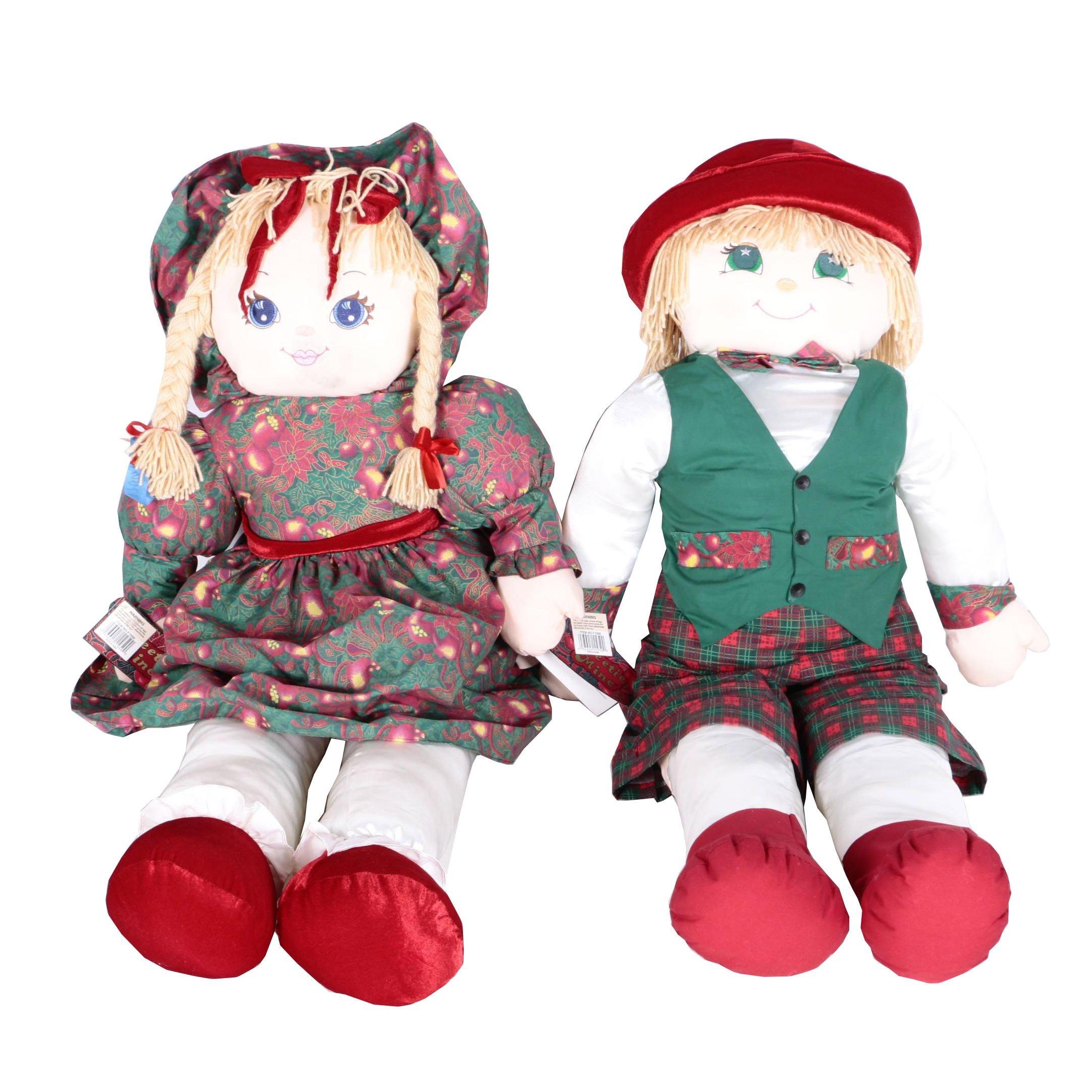 1995 Sweetie Mine Christmas Dolls