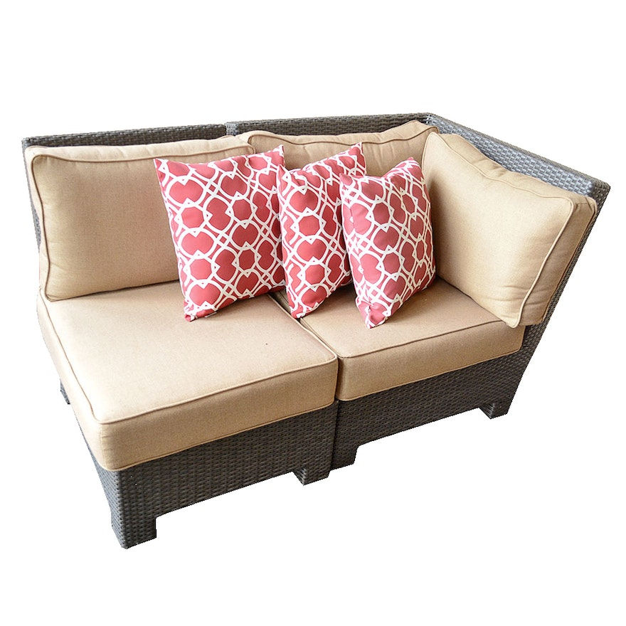 Southern Living Wicker Style Outdoor Seating