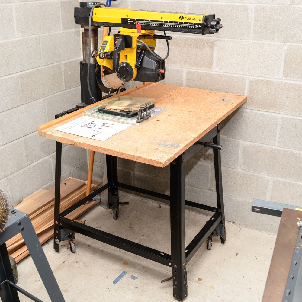 Rockwell Radial Arm Saw