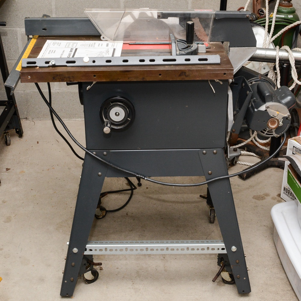 Sears/Craftsman 10-inch Table Saw