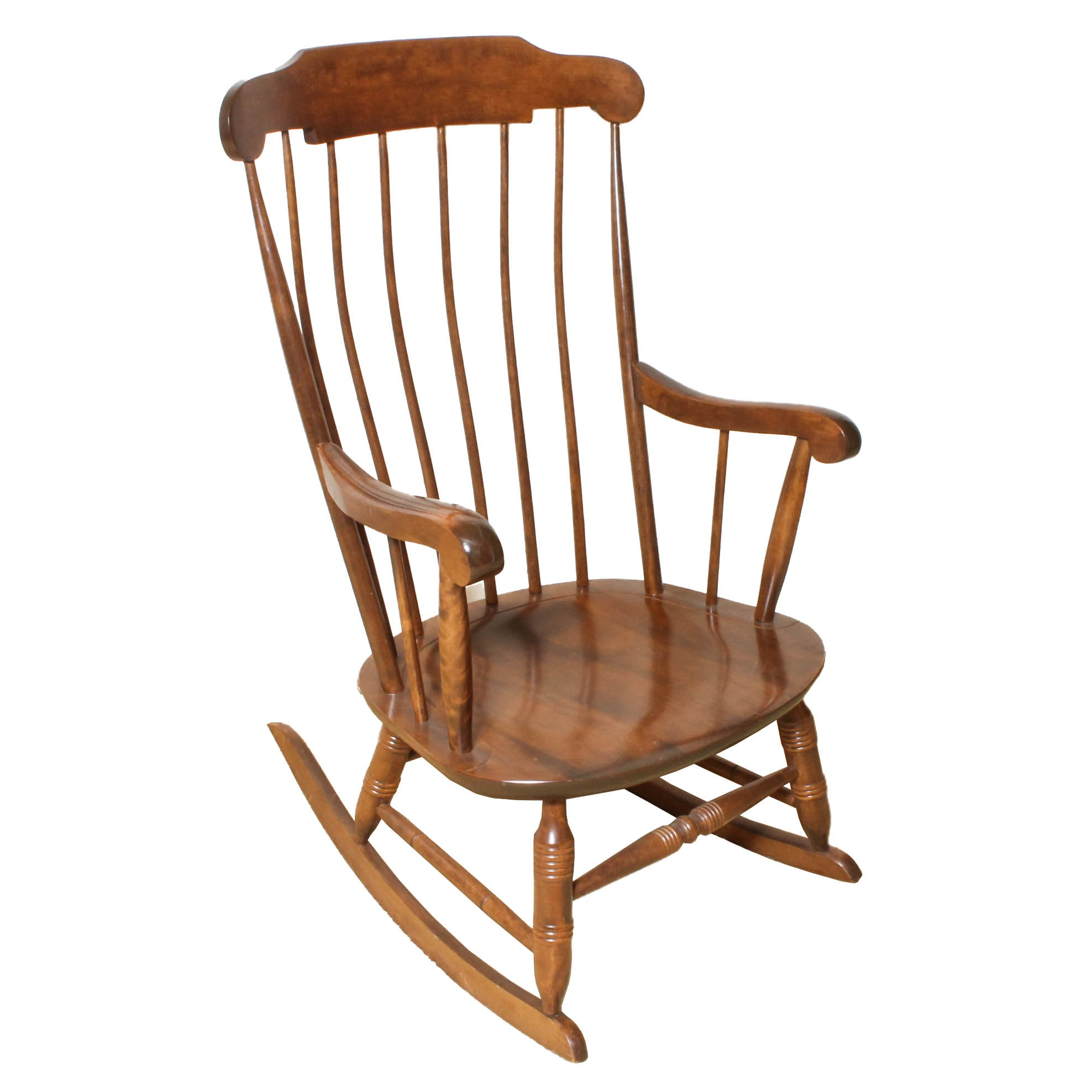 Vintage Windsor Style Rocking Chair ...
