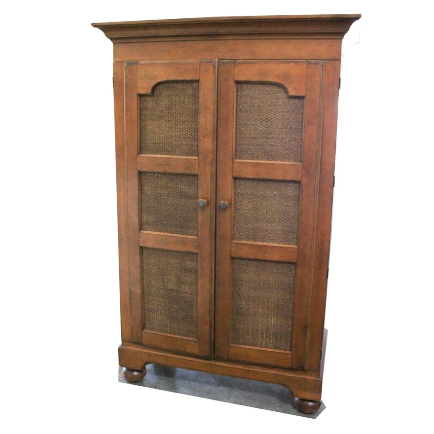 Solid Oak Hutch by Lane