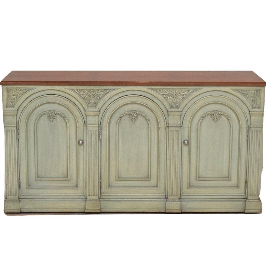 Wooden Sideboard By Henrendon Fine Furniture Ebth