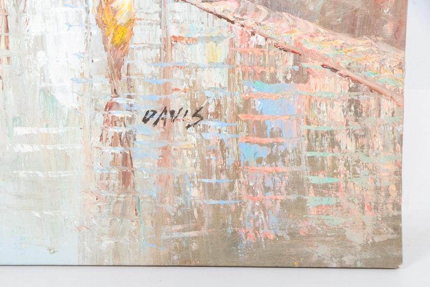 oil portrait painter davis Gay