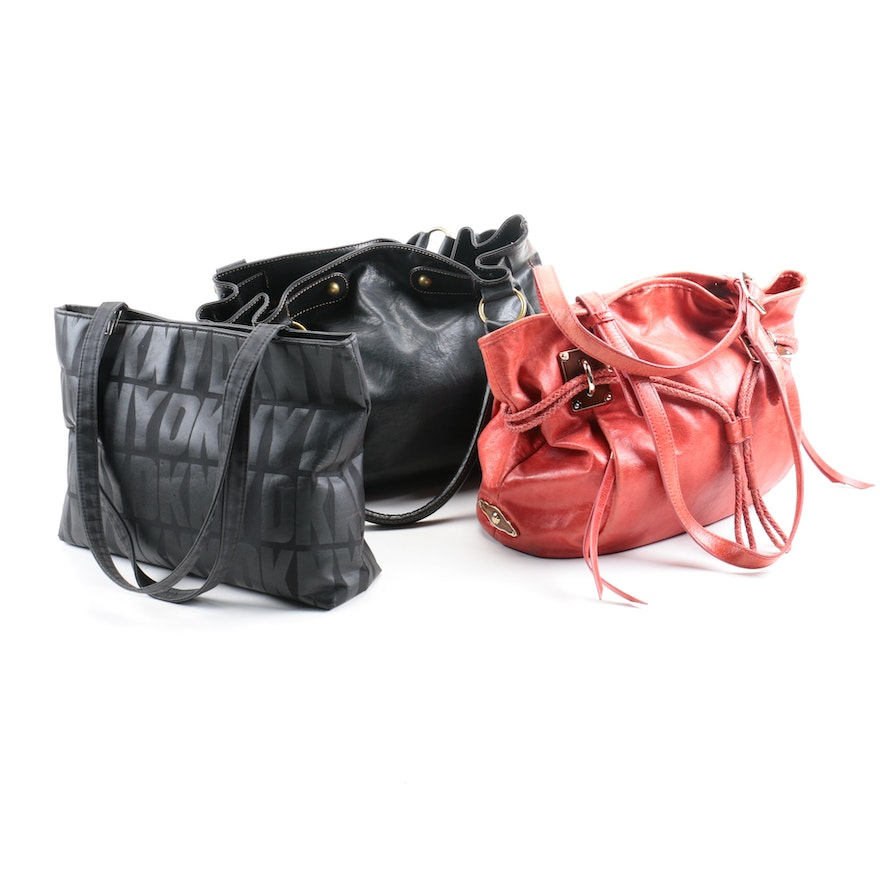 Women S Handbags Including Dkny Elliot Lucca And Axcess