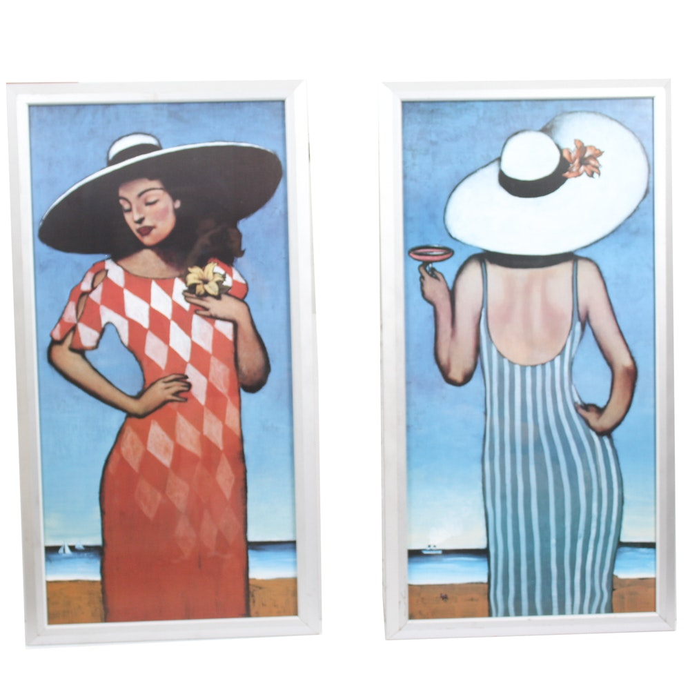 Pair of Offset Lithographs