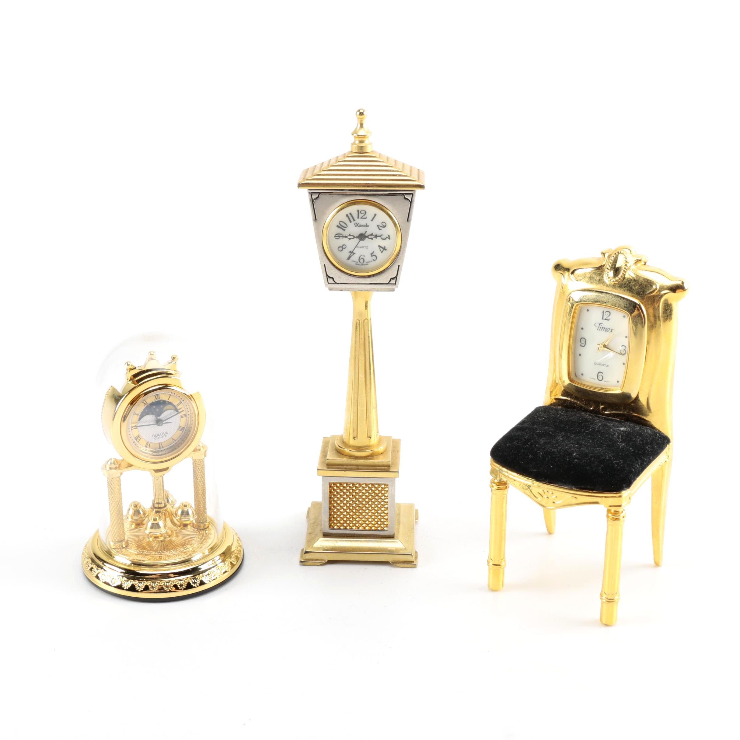 Small Model Clocks