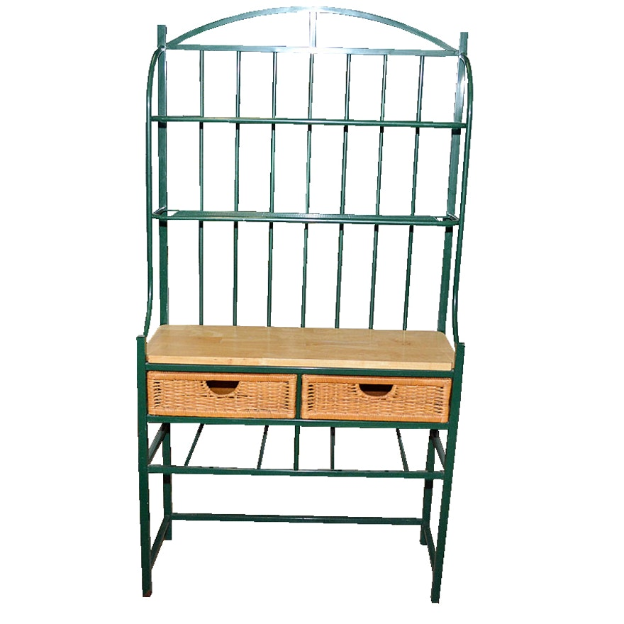rack company main western iron bakers furniture great drawer drawers wrought products product wine and with