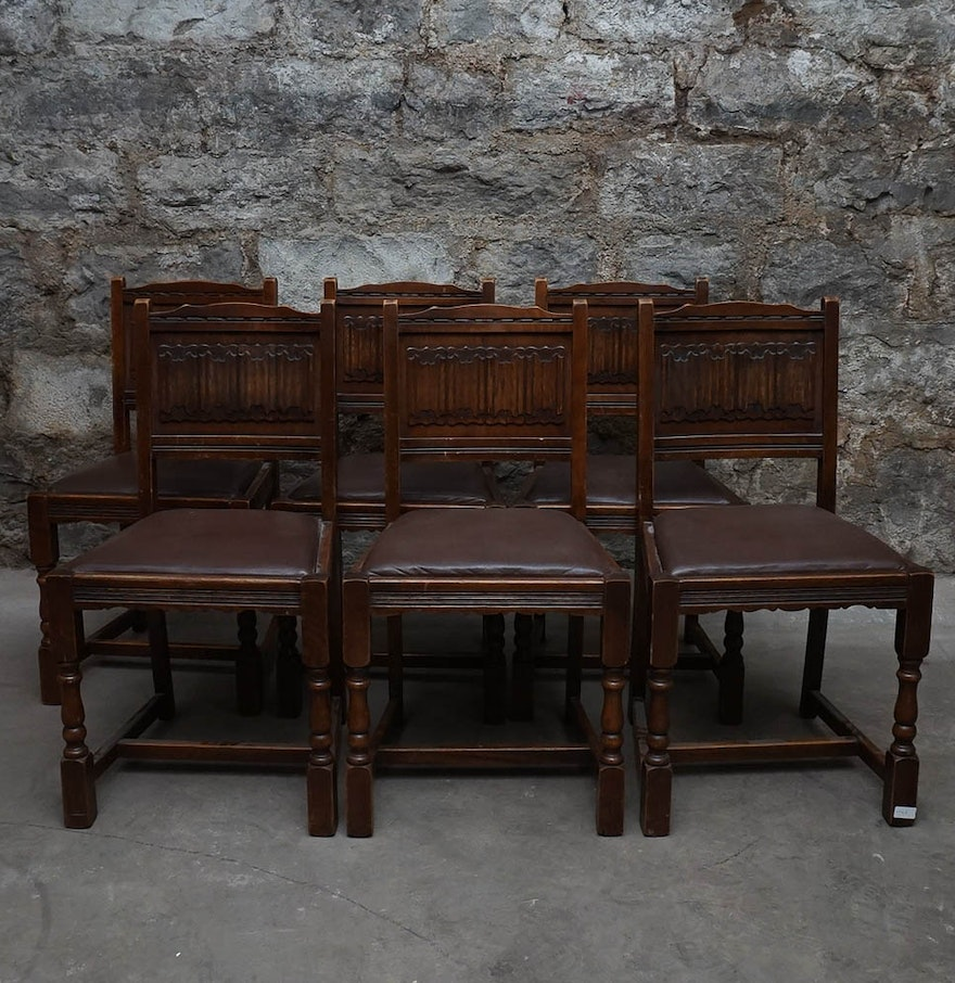 Vintage  Old Charm  Jacobean Revival Side Chairs by. Vintage  Old Charm  Jacobean Revival Side Chairs by Wood Bros    EBTH
