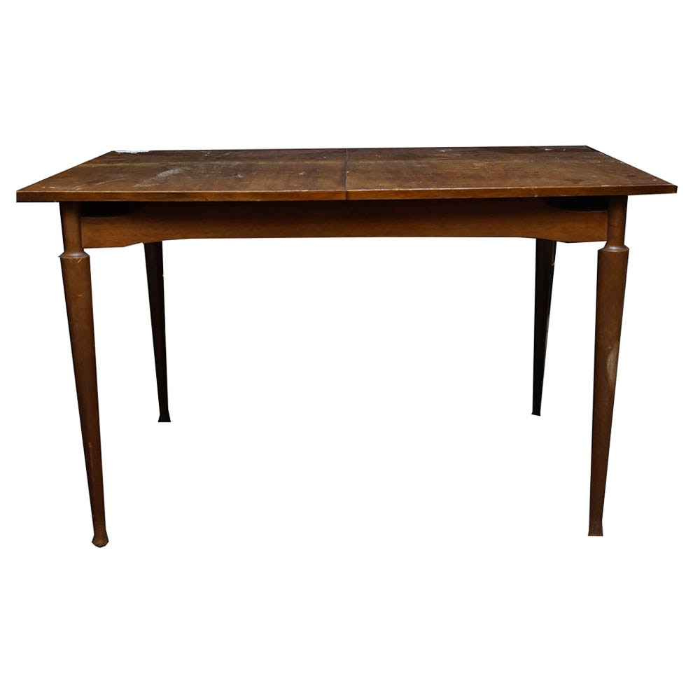 Mid Century Butterfly Extension Dining Table
