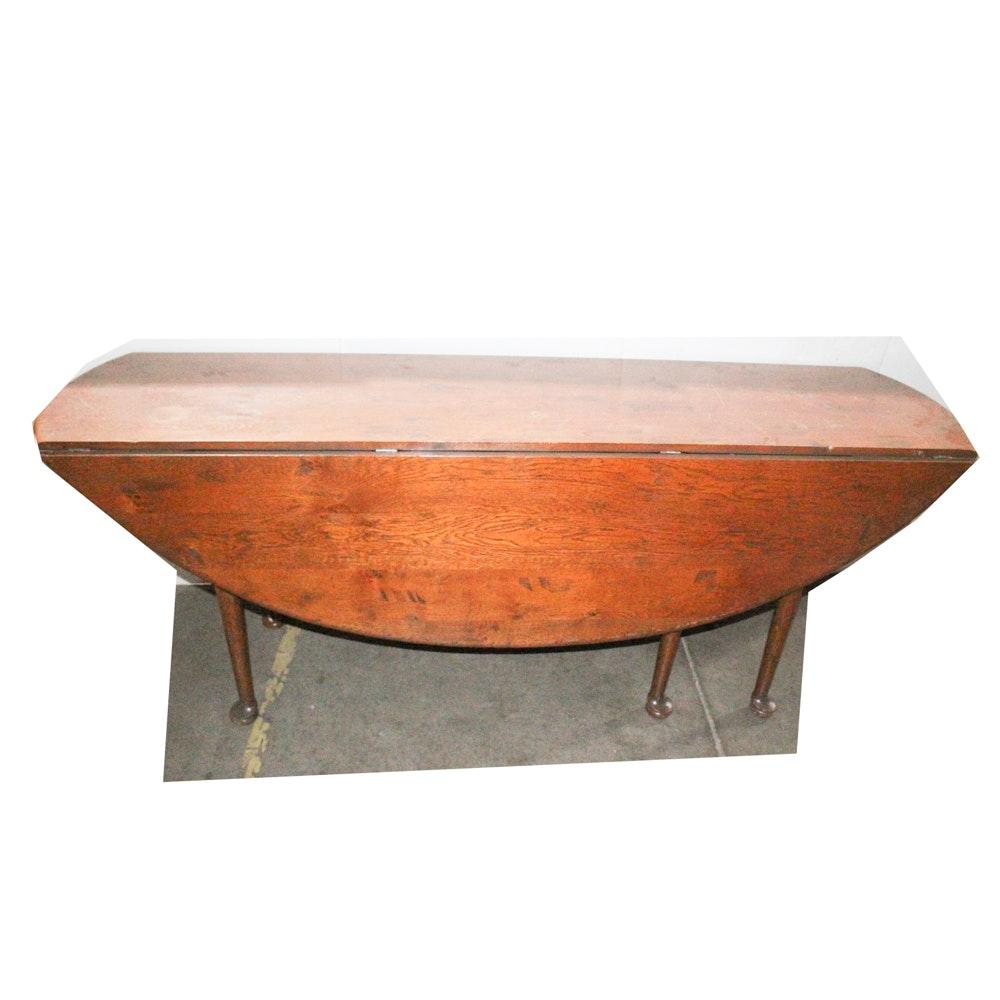 Antique Drop Leaf Gate Leg Table