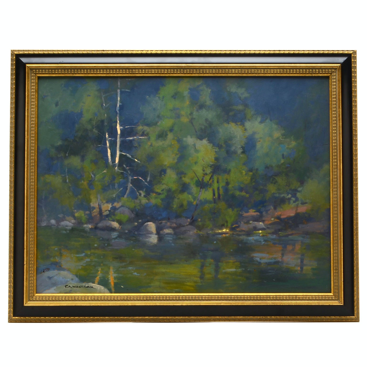 Robert A. Waltsak Original Oil Painting on Board