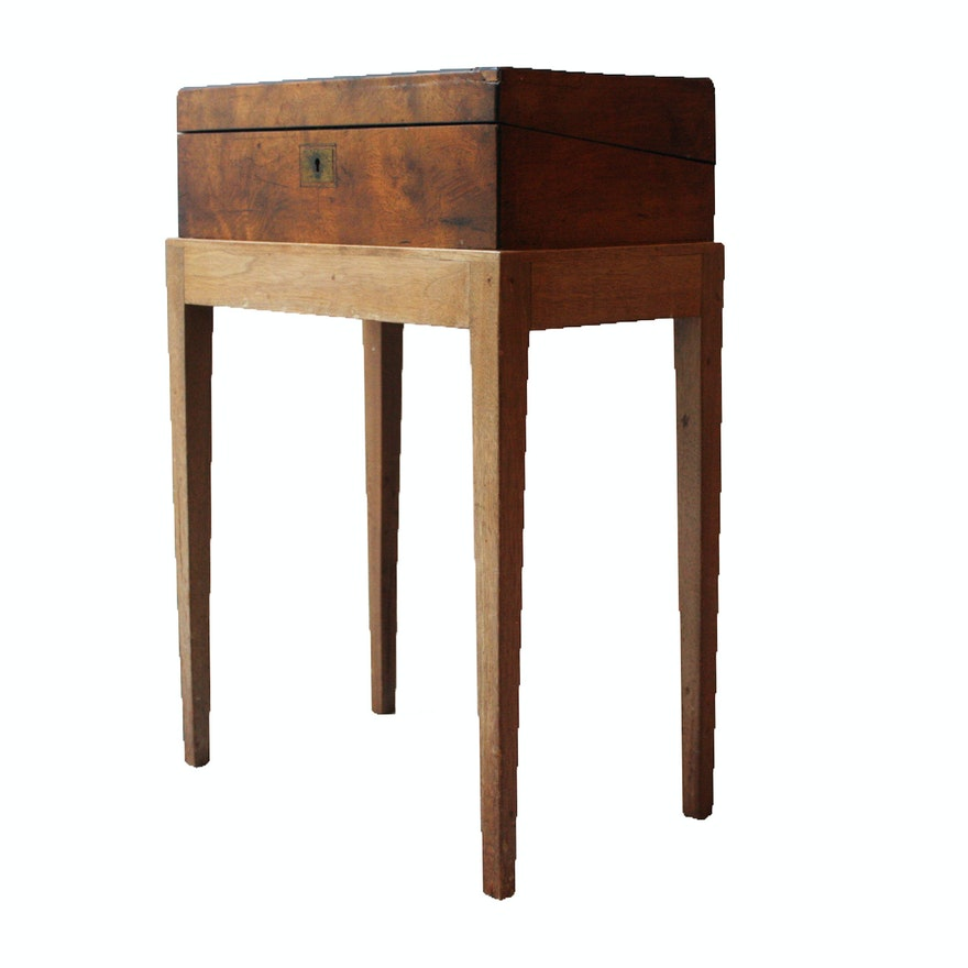 Early 20th Century Lap Desk on Stand