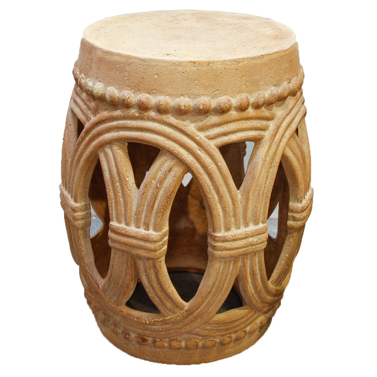 Delicieux Cast Stone Garden Stool ...