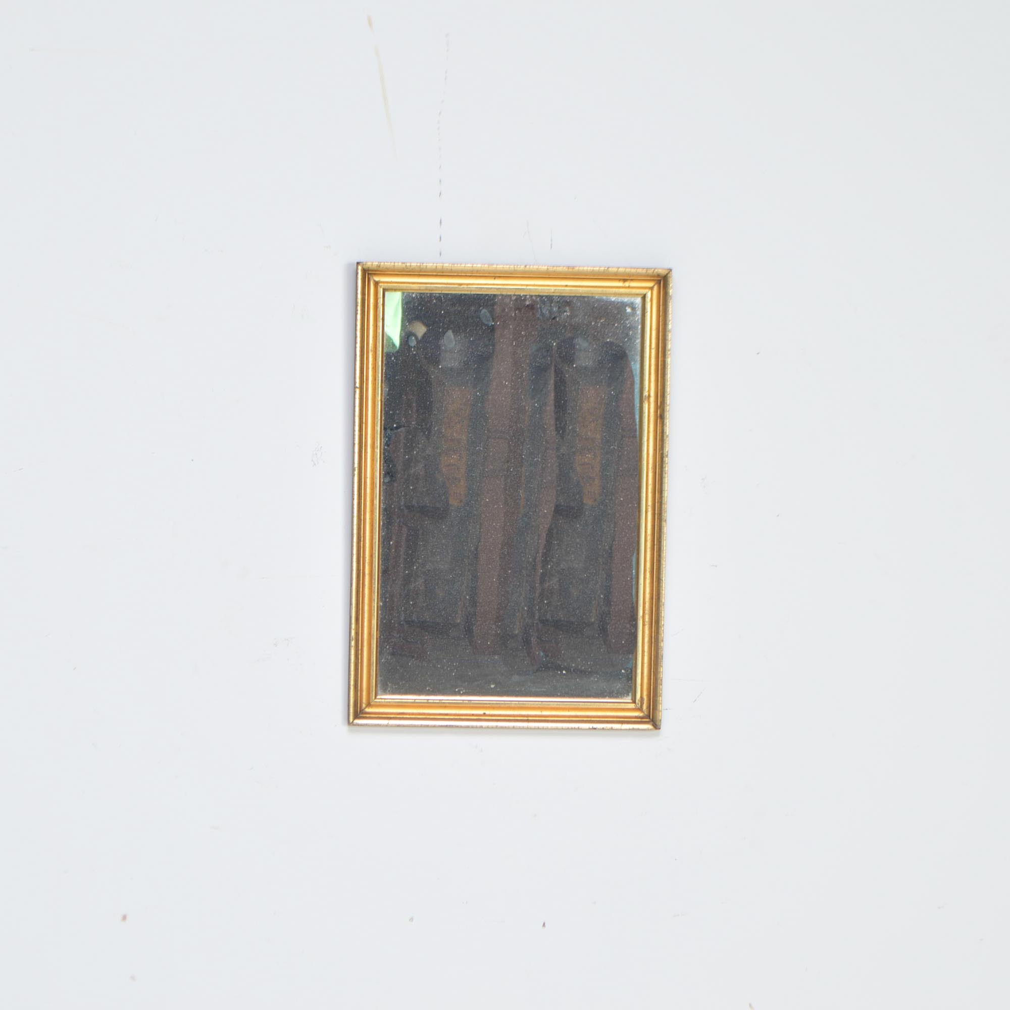 Vintage Gilt-Toned Wall Mirror