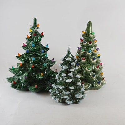 Ceramic Christmas Tree Decor