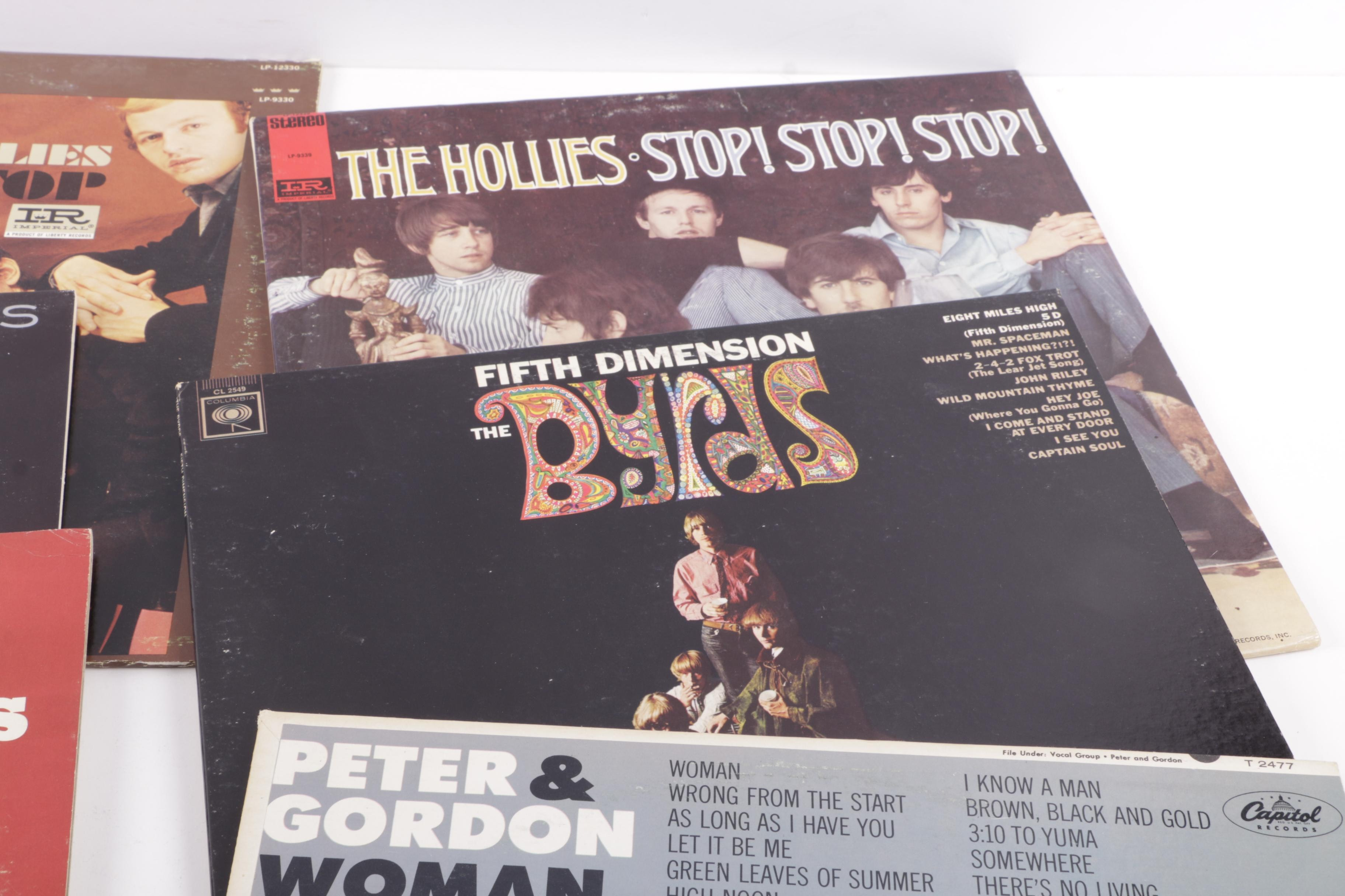 Byrds Hollies And Other Vintage Rock Pop Lps Ebth
