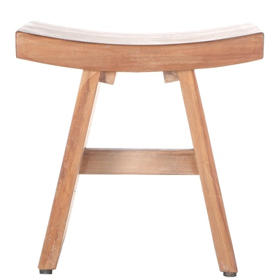 Wrought Iron Vanity Stool by Pier1 Imports : EBTH