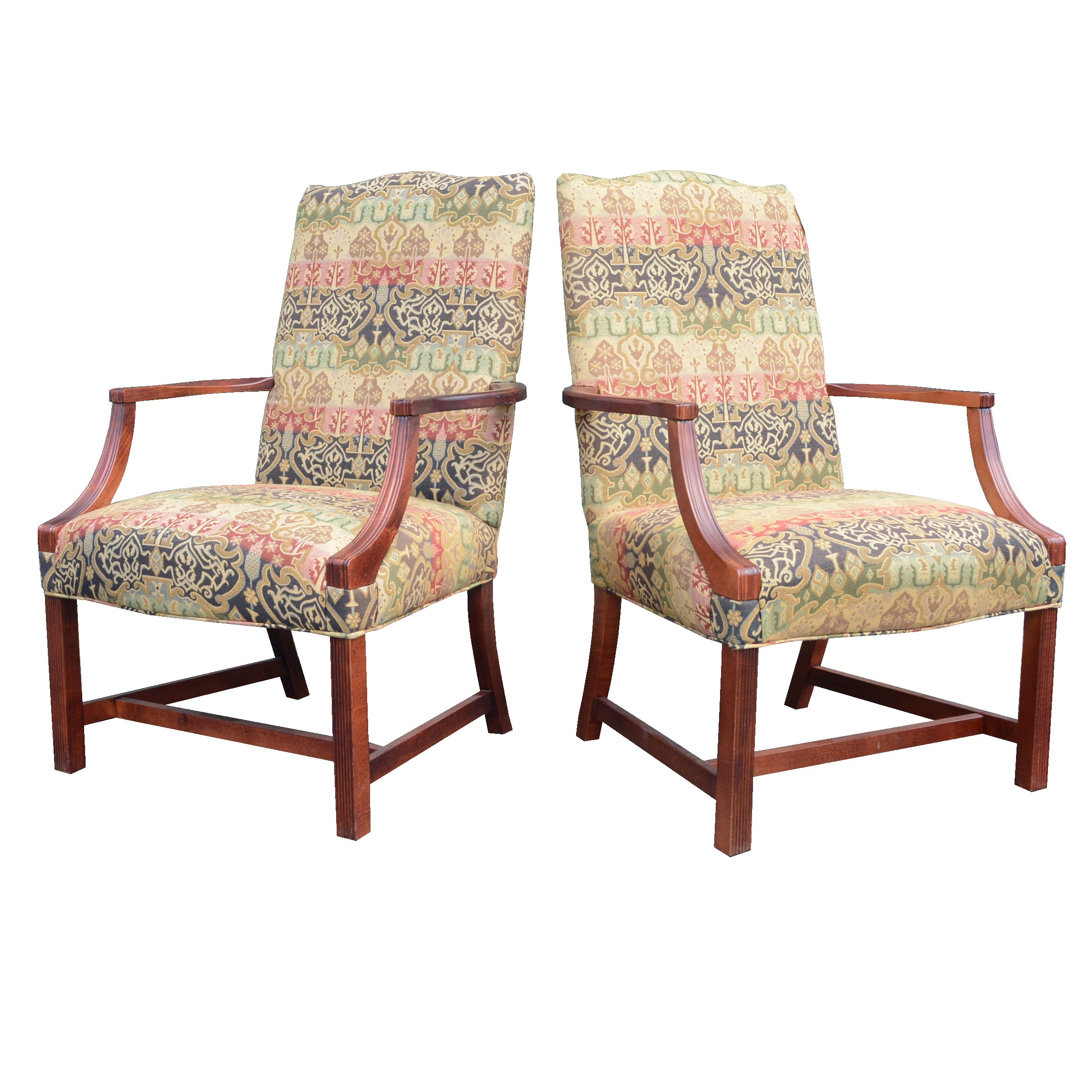 Upholstered Arm Chairs by Sam Moore Furniture