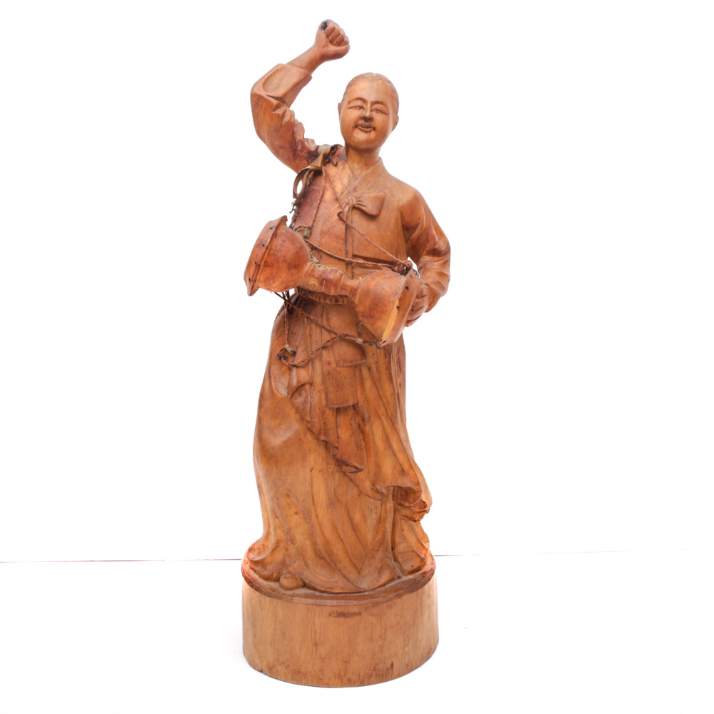 Asian Carved Wood 68