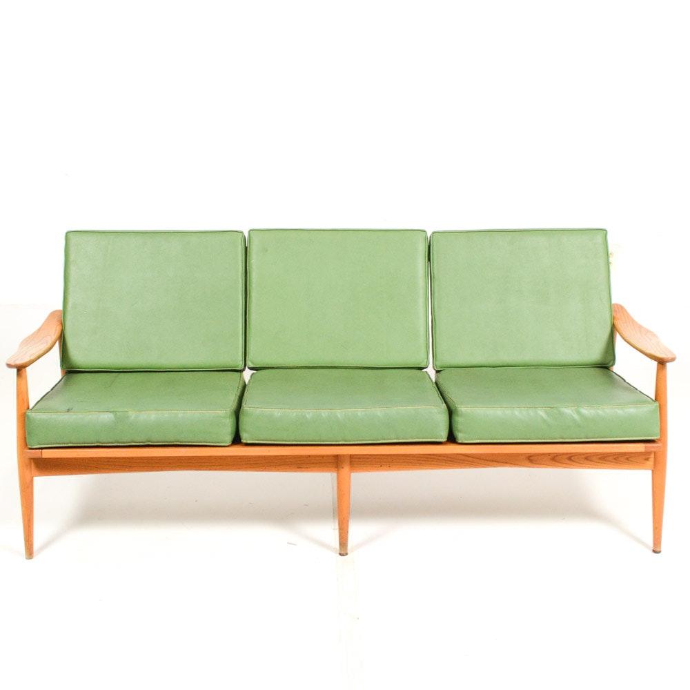 mid century modern heywood wakefield couch ebth rh ebth com heywood wakefield couch for sale heywood wakefield sofa table