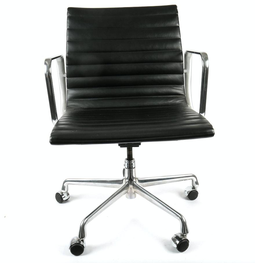 eames style aluminum group management chair ebth. Black Bedroom Furniture Sets. Home Design Ideas