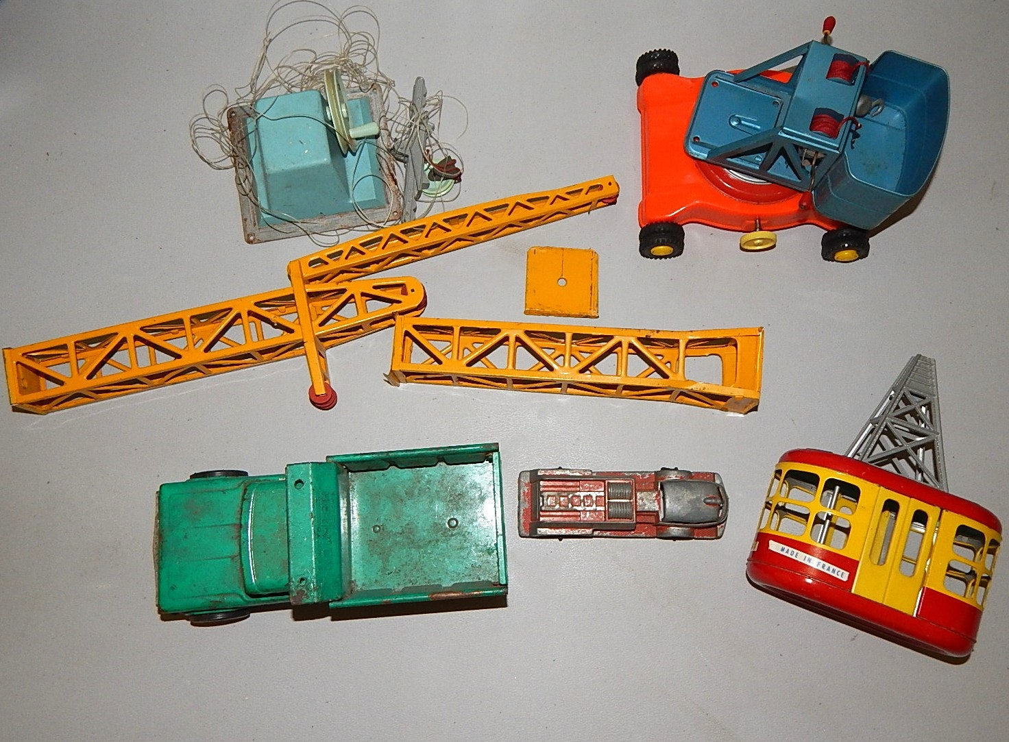 Vintage Toy Trucks Part - 45: Vintage Toy Trucks With Structo, Hubley ...